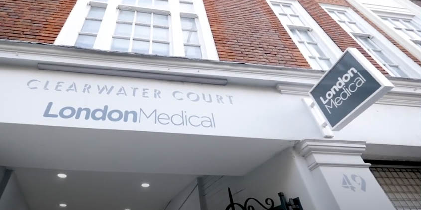 Dr Tickle moves to London Medical